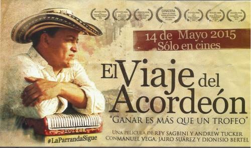"""""""El Viaje del Acordeón"""" estreno de película colombo-alemana"""""""