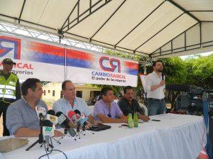 German Vargas Franco Ovalle Alfonso Mattos Eloy Quintero y Carlos Fernando Galán