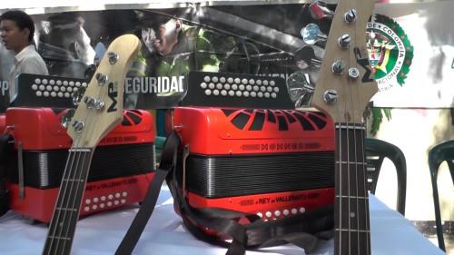 Recuperan instrumentos musicales hurtados en un colegio deValledupar