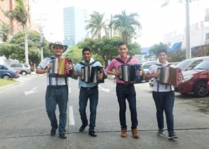 Reyes vallenatos 2015 en Barranquilla. Foto: Juan Rincón Vanegas