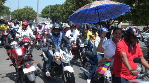 Marcha de profesores enValledupar