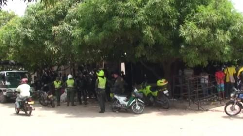 Alcaldía de Valledupar y la policía inician intervención en la comunacinco