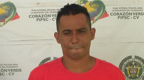 """Capturado alias """"Gerson"""" o """"El Apa""""  líder de la banda """"Lamacarena"""""""