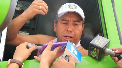 Conductores afectados por el paro de productores en Bosconia,Cesar