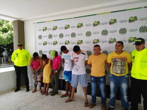 Policía desarticula bandas dedicadas al microtráfico deestupefacientes