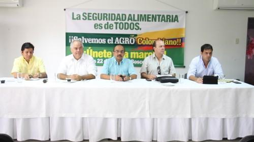 Productores agropecuarios del Cesar ratificaron marcha aBosconia