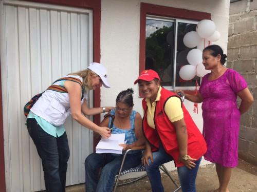 28 viviendas de reconstrucción en sitio entregó Comfacesar en la Jagua deIbirico