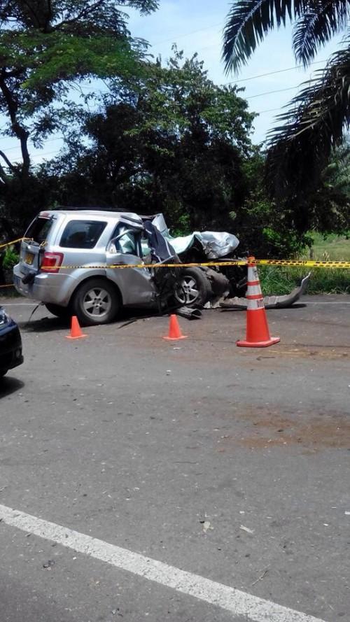 En accidente de tránsito murió ganadero de Codazzi y su conductor resultóherido