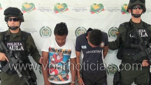 Policía Nacional desarticuló banda de extorsionistas en CodazziCesar