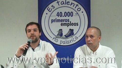Presentan en Valledupar el programa de los 40 000 primerosempleos