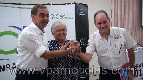 Debate con los candidatos a la gobernación delCesar