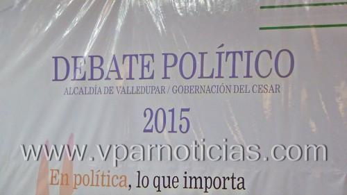 Candidatos a la alcaldía de Valledupar endebate