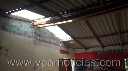 Más de 70 familias afectadas por vendaval en El CopeyCesar