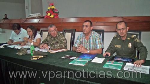 Autoridades garantizan seguridad en elecciones del 25 de octubre en elCesar