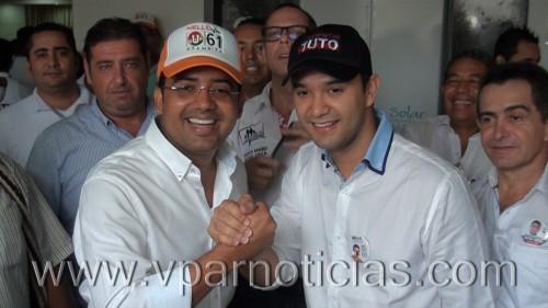 """""""Mello"""" Castro se adhirió a la campaña de """"Tuto""""Uhía"""