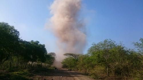 Ejército destruyó campo minado en LaGuajira