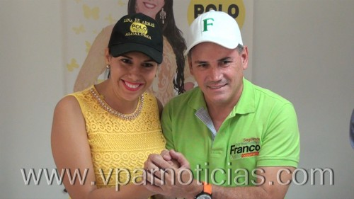 Franco Ovalle y Lina de Armas unidos porcoopenevada