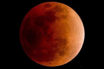 El eclipse de luna enValledupar