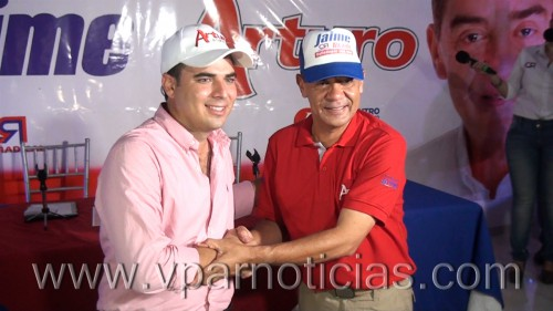 Jaime González hizo público el apoyo a la campaña de ArturoCalderón
