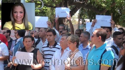 Periodistas de Valledupar realizarón un plantón por asesinato decolega