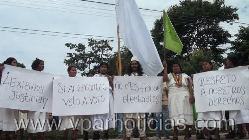 Autoridades indígenas se pronunciaron ante la elección del alcalde de PuebloBello