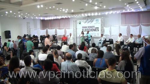 En debate del C P V los candidatos presentaron sus propuestas a la alcaldia deValledupar