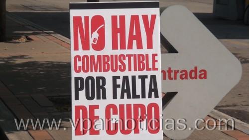 Falta de gasolina en Valledupar. Los cupos son insuficientes para laciudad