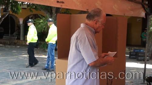 Policía y registraduría garantizan elecciones con seguridad en elCesar