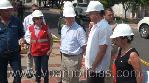 """""""Antes de fin de año se instalarán  cámaras de seguridad en Valledupar """":MinInterior"""