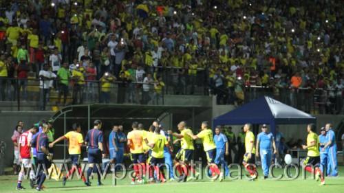 Colombia le ganó a Paraguay 4 a 2 en el sudamericano sub 15 deFutbol