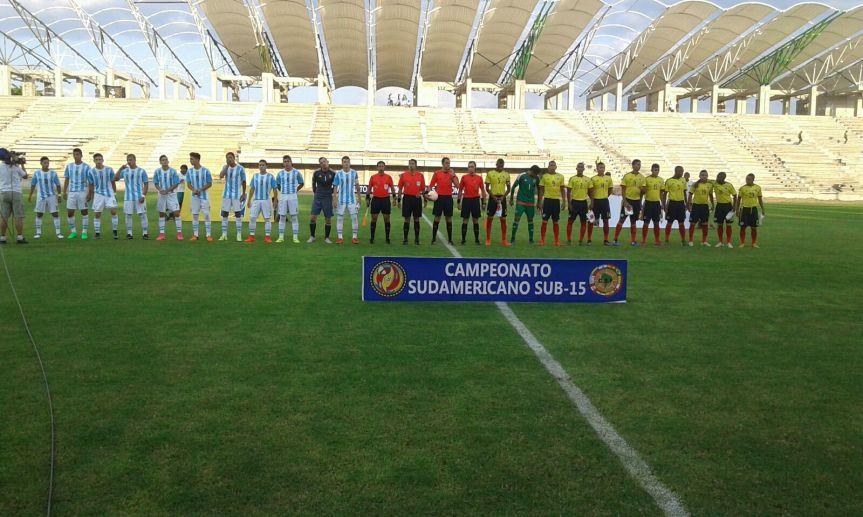 Argentina supera marca colombiana en sudamericano sub15