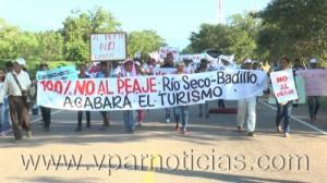 Comunidades del norte de Valledupar dicen no al peaje en Rio seco0