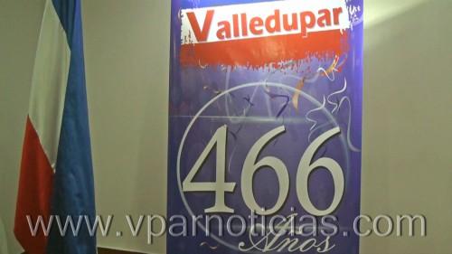 Cumpleaños 466 de Valledupar se hará con una variadaprogramación