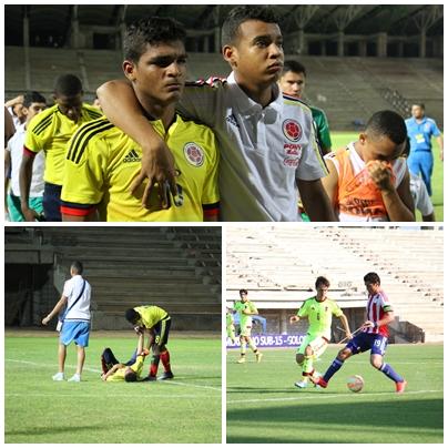 Primeros eliminados del Sudamericano sub15
