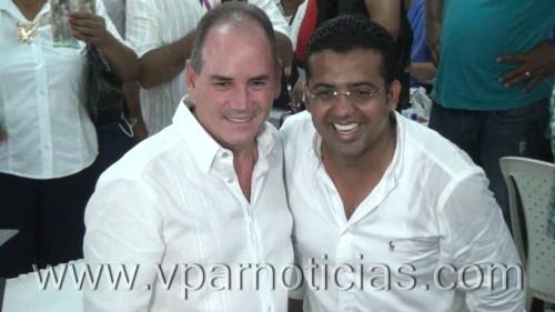 Franco Ovalle y Tuto Uhía recibieron las credenciales de laregistraduria