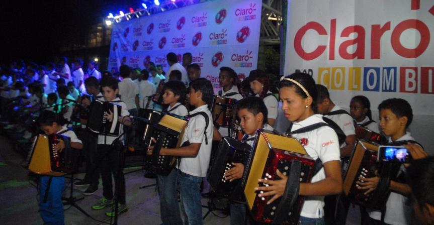170 niños graduados en músicavallenata