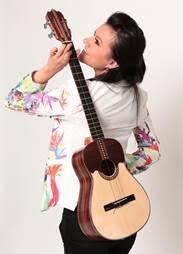 Zahira Noguera en concierto enValledupar