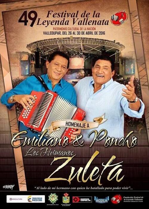 Afiche del 49 Festival evoca el vallenatoraizal