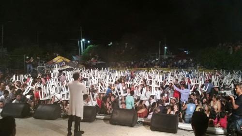 Vándalos empañaron presentación de Silvestre Dangond en San Juan delCesar.