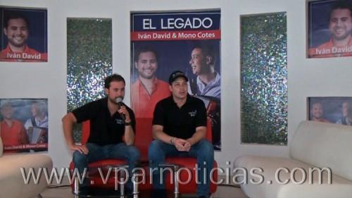 """""""El Legado"""", título del nuevo álbum de Iván David & MonoCotes"""