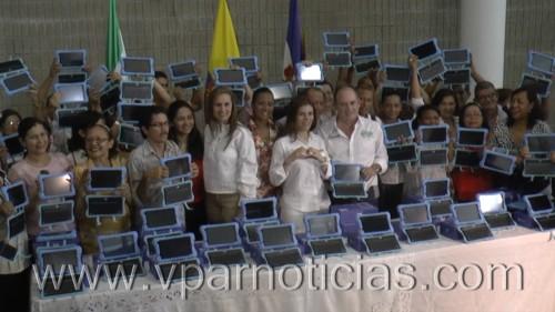 Viceministra de las Tics y Gobernador del Cesar firmaron pacto por elteletrabajo