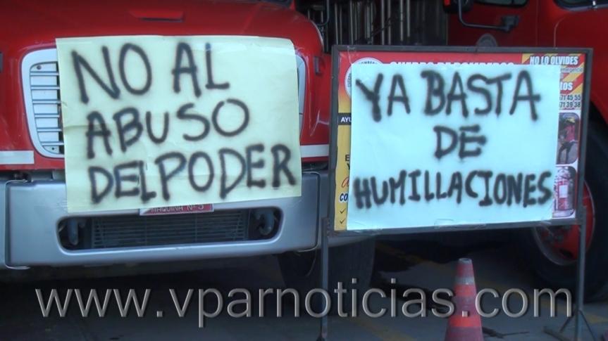 Bomberos de Valledupar piden renuncia delComandante
