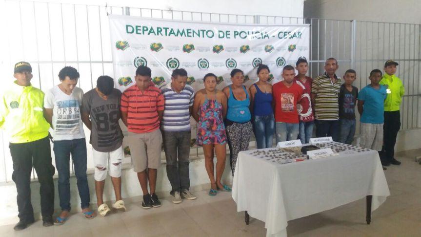 Policía desarticuló estructuras de microtráfico en entornos educativos deValledupar