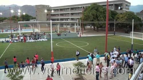 Complejo deportivo fue inaugurado porComfacesar