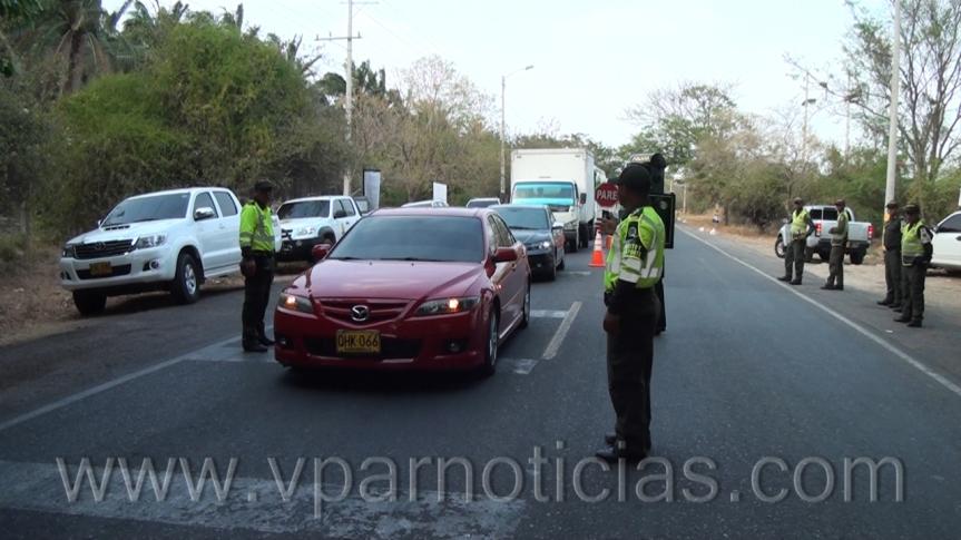 Policía reitera recomendaciones a feligreses yturistas