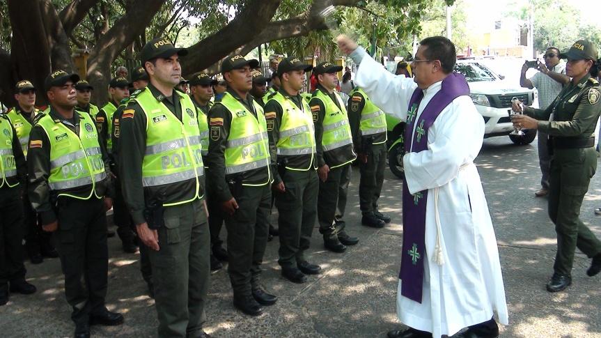 Policía refuerza seguridad en SemanaSanta