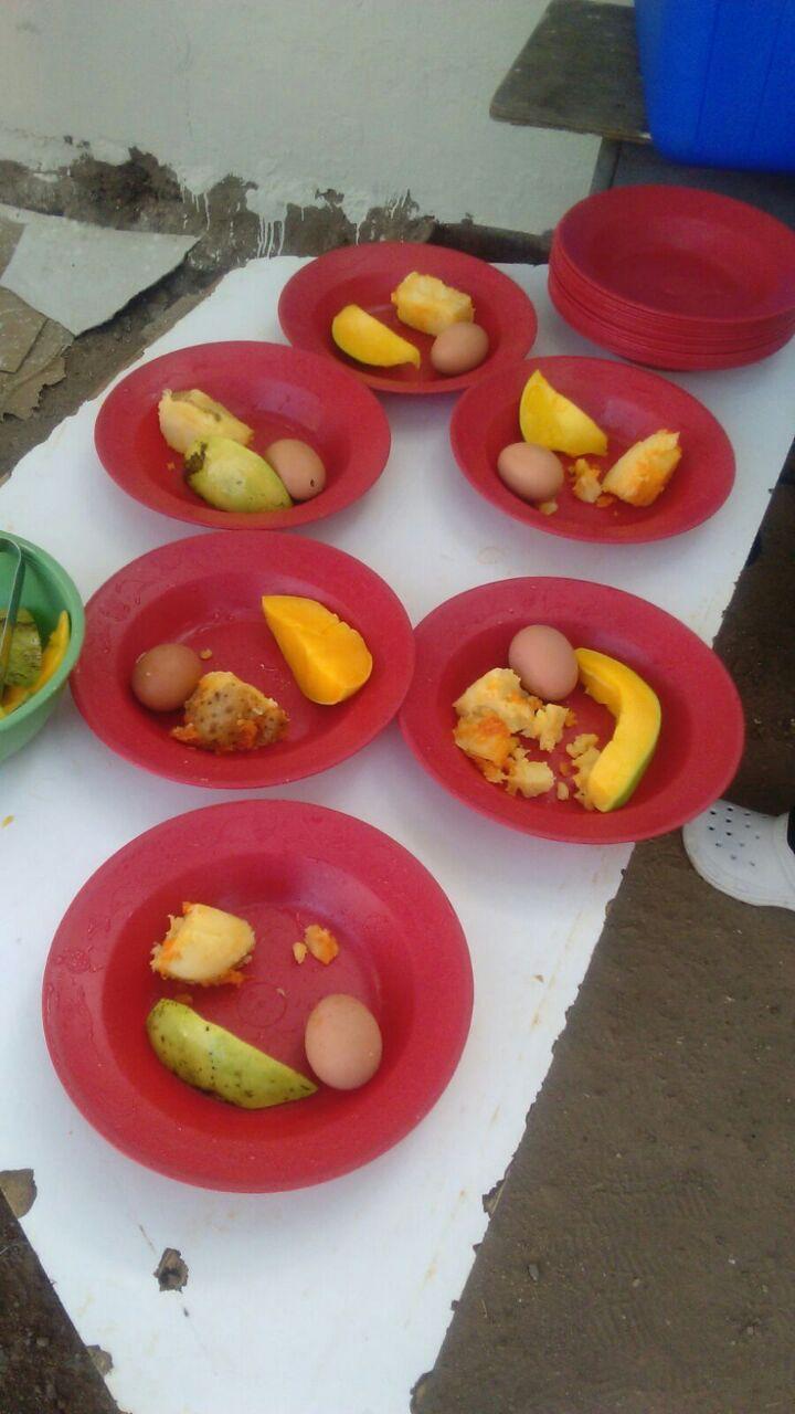 En Aguachica, Cesar: huevo con mango, es el desayunoescolar