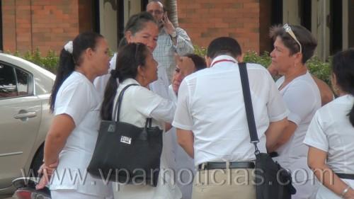 Paro en el Hospital Rosario Pumarejo de López por falta depago