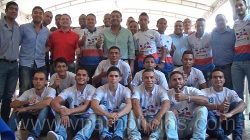 Real Valledupar se prepara para el nacional de futbol desalón