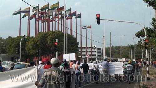 Valledupar se unió a la marcha nacional deprotesta